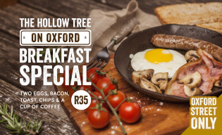 The Hollow Tree on Oxford Breakfast Special