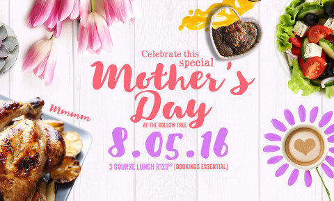 Celebrate Mother's Day at The Hollow Tree