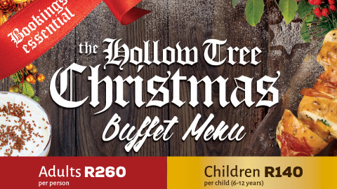 Christmas Lunch at the Hollow Tree