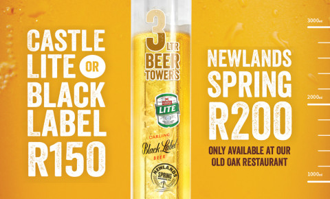 3 litre Beer Tower Special