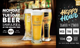 Monday and Tuesday Beer Bonanza