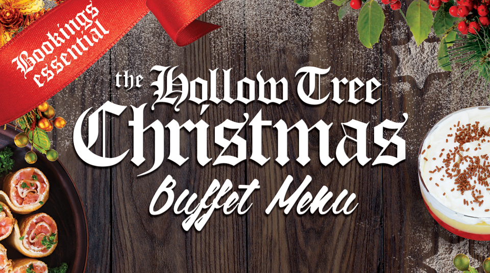 The Hollow Tree Christmas Buffet