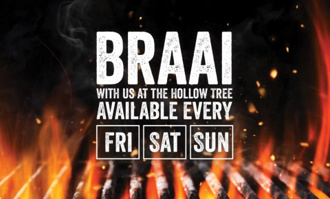 Braai weekends at the Hollow Tree