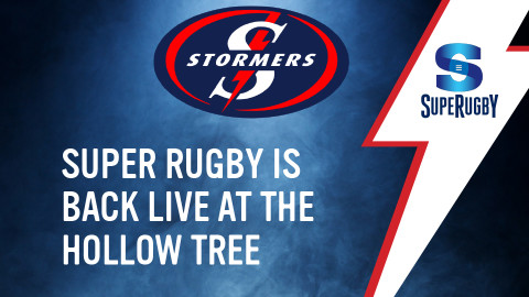 Super Rugby is back live at The Hollow Tree