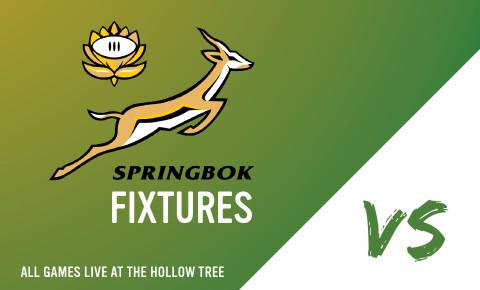 Springbok fixtures